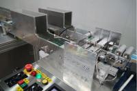 Узел автоматического распределения масок на два разных конвейера
