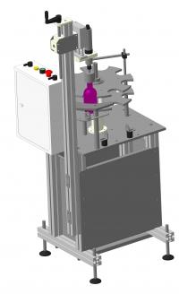 Устройство роторного типа для закручивания пробок на флаконы (РЗУ–1)