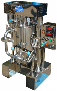 Лабораторный реактор с внешним контуром