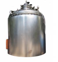 Реактор для инъекционных растворов объемом 1500 л. с программируемой системой управления