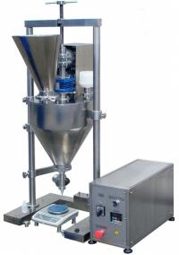 Дозатор для сухих сыпучих веществ в стеклянную, полимерную или бумажную тару (доза 1-1000 г)
