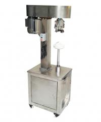 Полуавтоматическое устройство для закручивания алюминиевых крышек/пробок