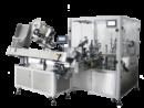 Автоматическая установка розлива/укупорки и нанесения этикетки для неустойчивых флаконов